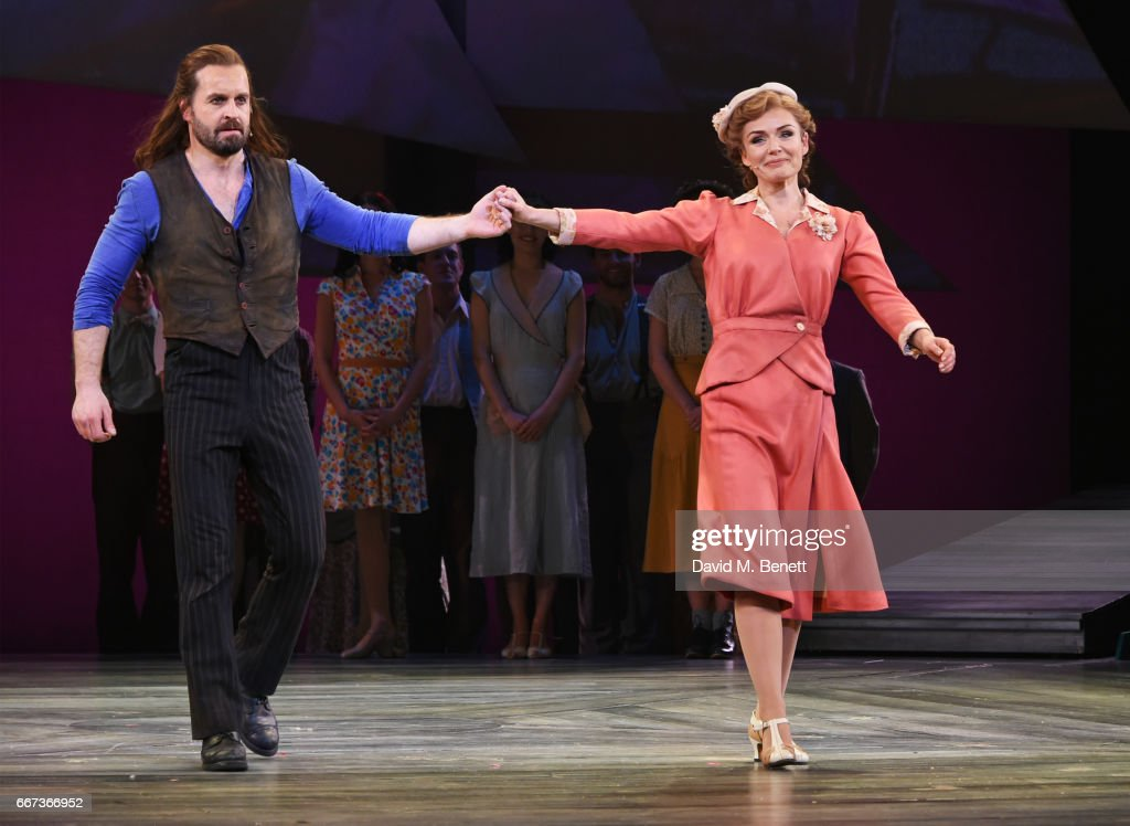 """Rodgers & Hammerstein's """"Carousel"""" - Press Night - Curtain Call & Backstage : News Photo"""