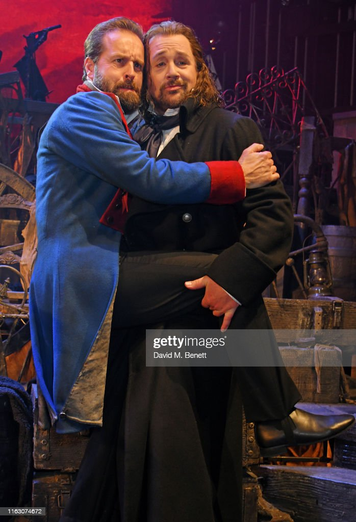 """Les Miserables: The Staged Concert"" - Press Night - Curtain Call & Backstage : News Photo"