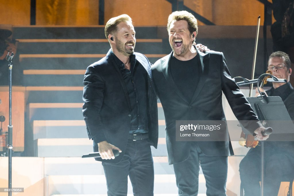 Michael Ball And Alfie Boe Perform At The O2 Arena