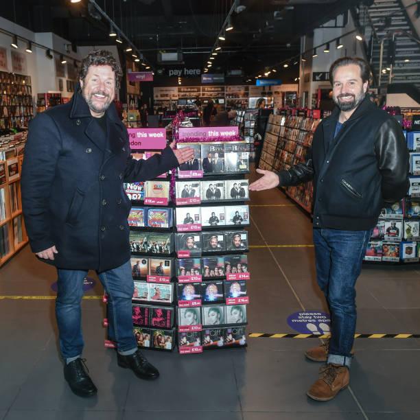 GBR: Alfie Boe & Michael Ball Album Signing