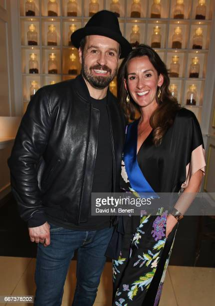 Alfie Boe and Sarah Boe attend the press night after party for the English National Opera's production of Rodgers Hammerstein's 'Carousel' at St...