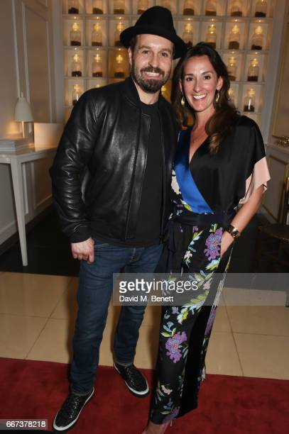 Alfie Boe and Sarah Boe attend the press night after party for the English National Opera's production of Rodgers Hammerstein's Carousel at St...