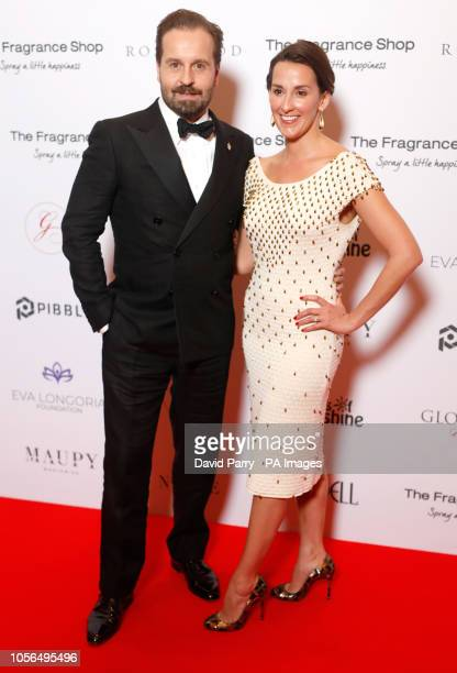 Alfie Boe and Sarah Boe attending the 9th Annual Global Gift Gala held at the Rosewood Hotel London PRESS ASSOCIATION PHOTO Picture date Friday...