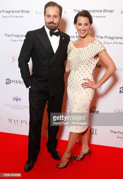 Alfie Boe and Sarah Boe attending the 9th Annual Global Gift Gala held at the Rosewood Hotel London