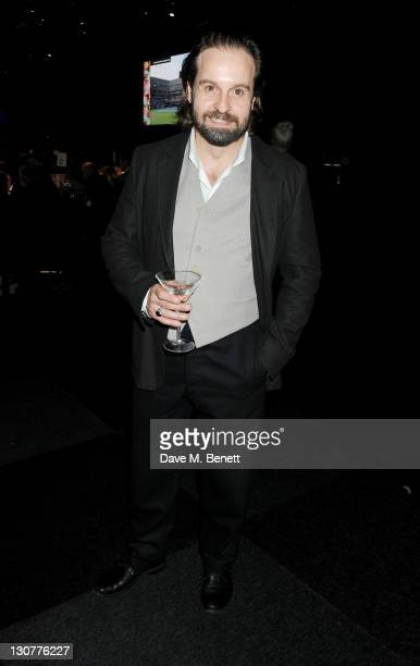 Alfie Boe attends the Grey Goose Winter Ball to benefit the Elton John AIDS Foundation at Battersea Evolution on October 29 2011 in London England