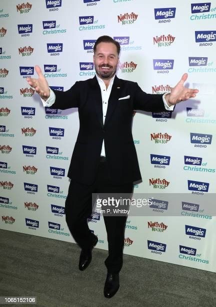 Alfie Boe attends the Magic Of Christmas in association with Magic FM at London Palladium on November 24 2018 in London England