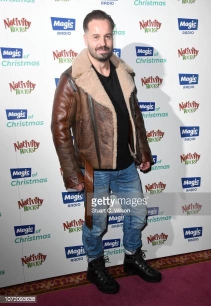 Alfie Boe attends the Magic Of Christmas in association with Magic FM at London Palladium on November 25 2018 in London England