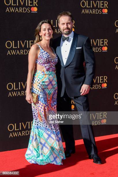 Alfie Boe attends The Olivier Awards 2017 at Royal Albert Hall on April 9 2017 in London England