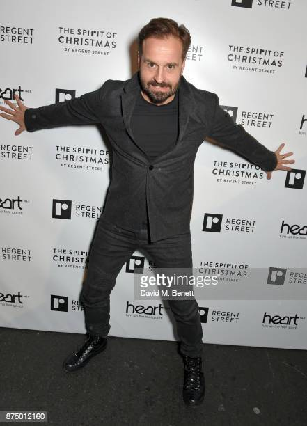 Alfie Boe attends the Regent Street Christmas Lights switch on event with Heart FM on November 16 2017 in London England