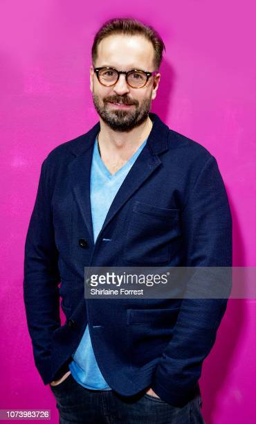 Alfie Boe meets fans and signs copies of his new album 'As Time Goes By' at HMV Blackpool on November 28 2018 in Blackpool England