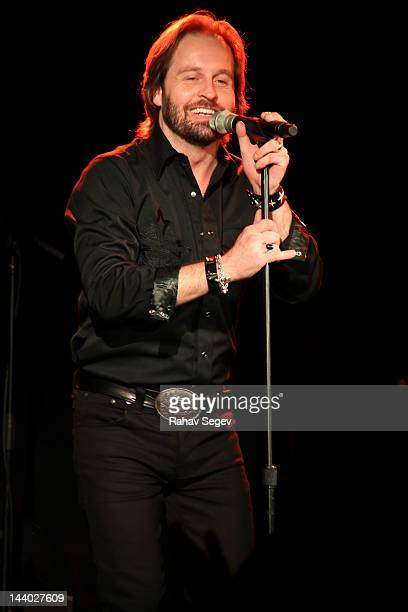 Alfie Boe performs at Le Poisson Rouge on May 7 2012 in New York City