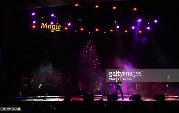 Alfie Boe performs during Magic Of Christmas in association with Magic FM at London Palladium on November 25 2018 in London England