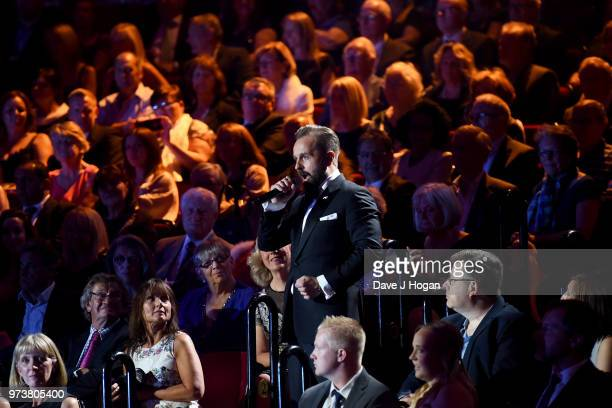 Alfie Boe performs during the 2018 Classic BRIT Awards held at Royal Albert Hall on June 13 2018 in London England