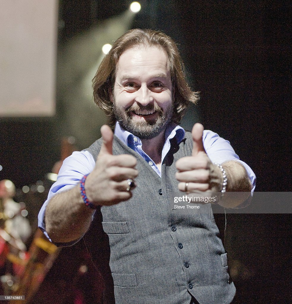 Alfie Boe Performs At Symphony Hall In Birmingham : News Photo
