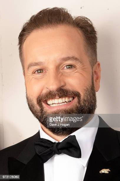 Alfie Boe poses backstage during the Classic BRIT Awards rehearsals at Royal Albert Hall on June 13 2018 in London England