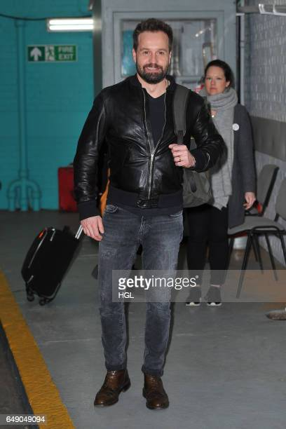 Alfie Boe seen at the ITV Studios on March 7 2017 in London England