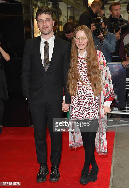 Alfie Brown and Jessie Cave arrive for the UK Premiere of Tale Of Tales at The Curzon Mayfair on June 1 2016 in London England