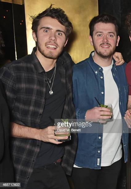 Alfie Deyes attends a party hosted by Instagram's Kevin Systrom and Jamie Oliver This is their second annual private party taking place at Barbecoa...