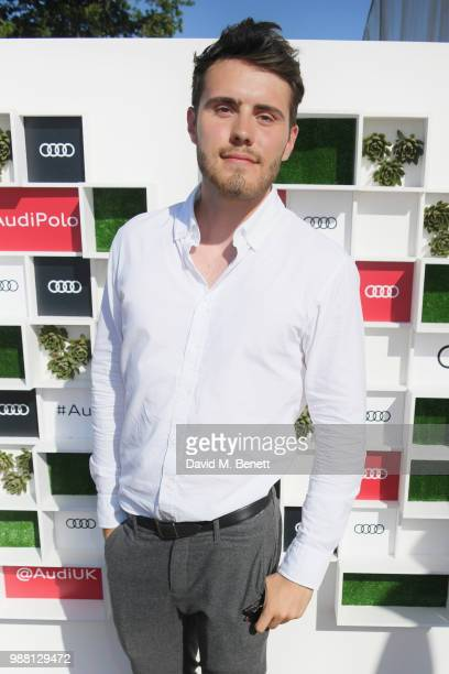 Alfie Deyes attends the Audi Polo Challenge at Coworth Park Polo Club on June 30 2018 in Ascot England