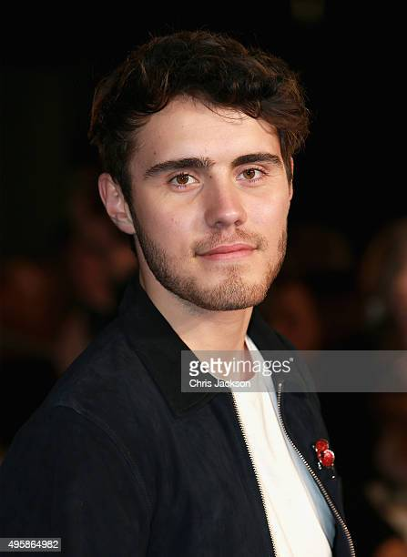 Alfie Deyes attends 'The Hunger Games Mockingjay Part 2' UK Premiere at the Odeon Leicester Square on November 5 2015 in London England