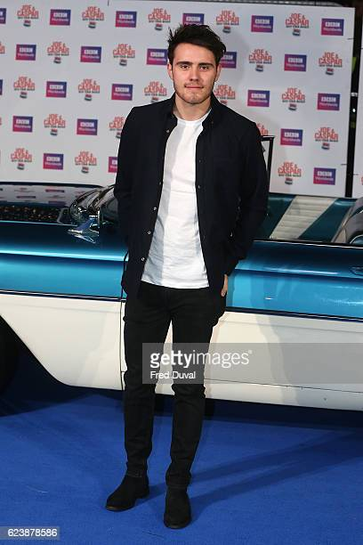 Alfie Deyes attends the UK Premiere of Joe Casper Hit The Road USA at Cineworld Leicester Square on November 17 2016 in London England