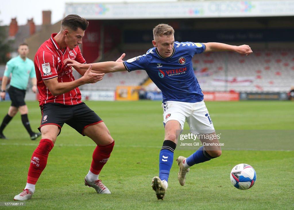 Lincoln City v Charlton Athletic - Sky Bet League One : News Photo