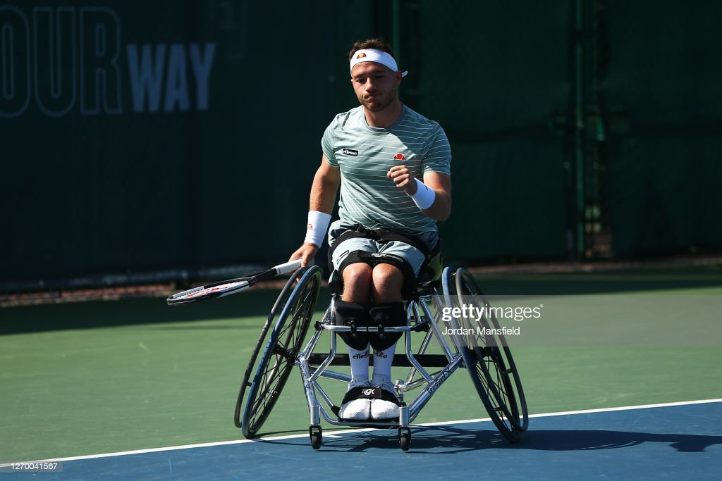 LTA Wheelchair Tennis Tournament : News Photo