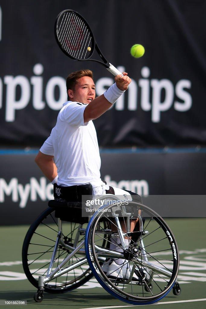 British Open Wheelchair Tennis Championships - Day Three