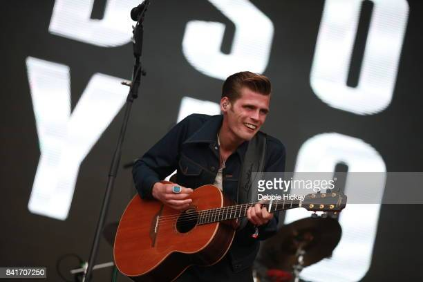 01 Alfie Hudson Taylor of Hudson Taylor performs at Electric Picnic Festival at Stradbally Hall Estate on September 1 2017 in Laois Ireland