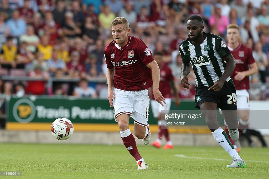 Northampton Town v Plymouth Argyle - Sky Bet League Two : News Photo