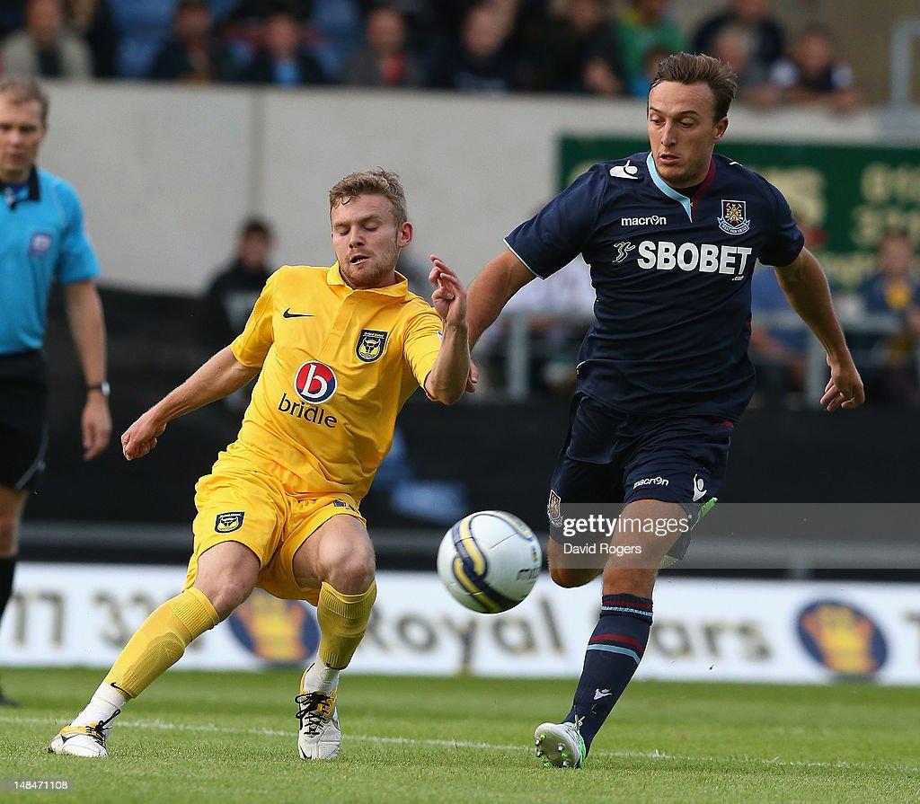 Oxford United v West Ham United - Pre Season Friendly : News Photo