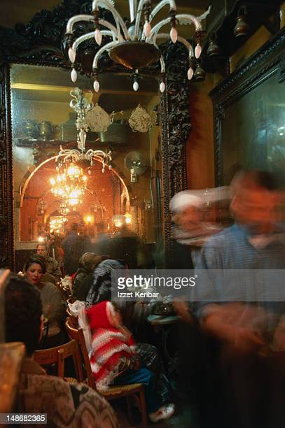 Al-Fishawi teahouse in the heart of the Khan Al-Khalili.