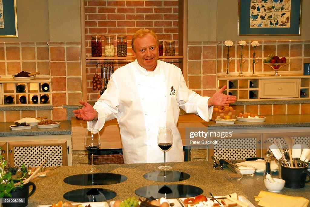 Alfons Schubeck , BR-Koch-und Comedy-Show \'Meine bayerische Küche ...