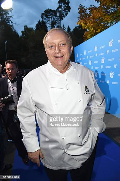 Alfons Schuhbeck attends the BR 50 year anniversary gala at Bavaria Filmstadt Geiselgasteig on October 10 2014 in Munich Germany