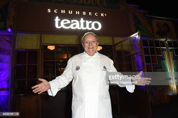 Alfons Schuhbeck attends the Premiere Schuhbecks Teatro on November 6 2014 in Munich Germany