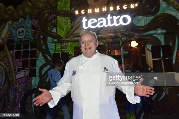 Alfons Schuhbeck during the 'Fantasia' VIP premiere of Schubecks Teatro at Spiegelzelt on November 2 2017 in Munich Germany