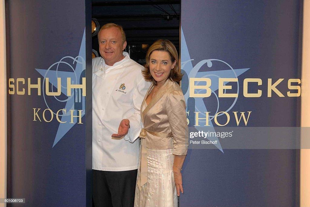 Alfons Schuhbeck, Sabine Sauer, BR-Show \'Schubecks Kochshow\', Folge ...