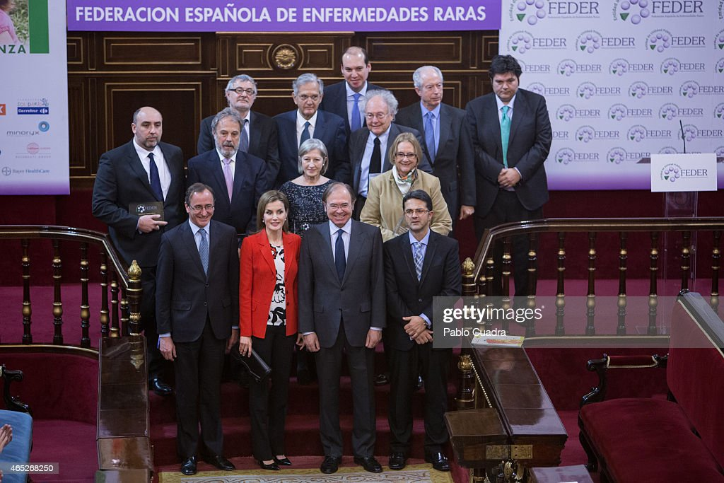 Queen Letizia of Spain Attends the Rare Diseases World Day Event : News Photo