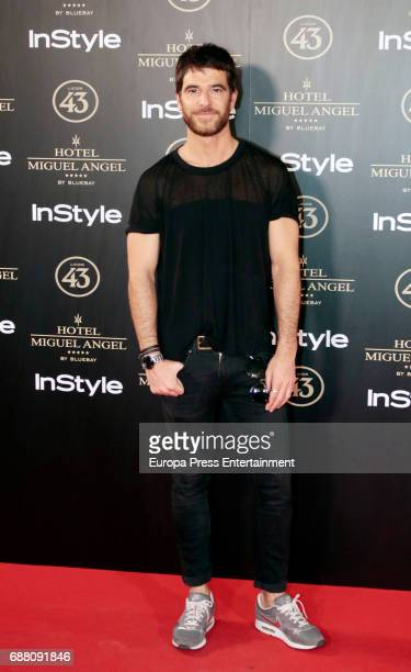 Alfonso Bassave attends 'El Jardin de Miguel Angel' terrace inauguration on May 24 2017 in Madrid Spain