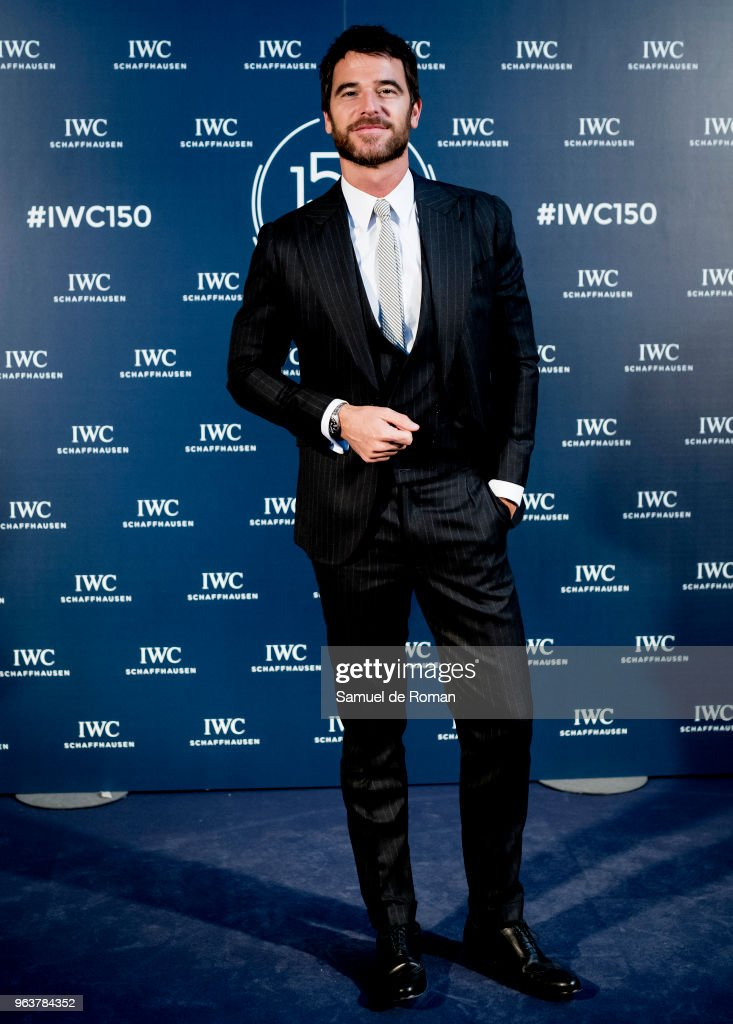 Alfonso Bassave attends 'IWC - Fuera de Serie' 150 Anniversary Party on May 30, 2018 in Madrid, Spain.