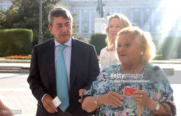 Alfonso Cortina attends 'Teatro Real' on July 26, 2018 in Madrid, Spain.