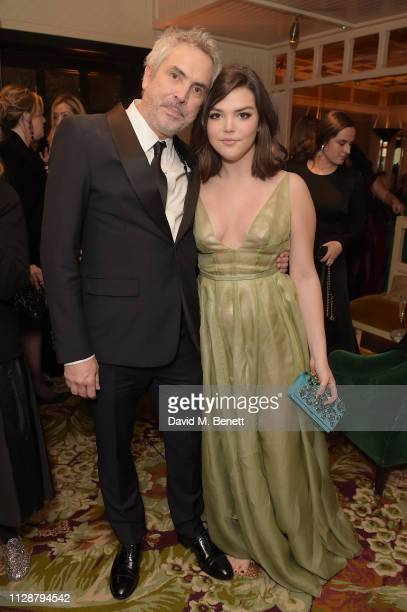 Alfonso Cuarón and Tess Bu Cuarón attend the Netflix 2019 BAFTA AWARDS After Party at Chiltern Firehouse on February 10, 2019 in London, England.