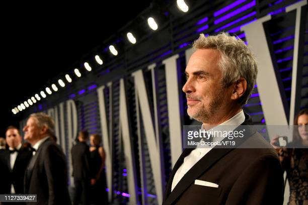 Alfonso Cuarón attends the 2019 Vanity Fair Oscar Party hosted by Radhika Jones at Wallis Annenberg Center for the Performing Arts on February 24,...
