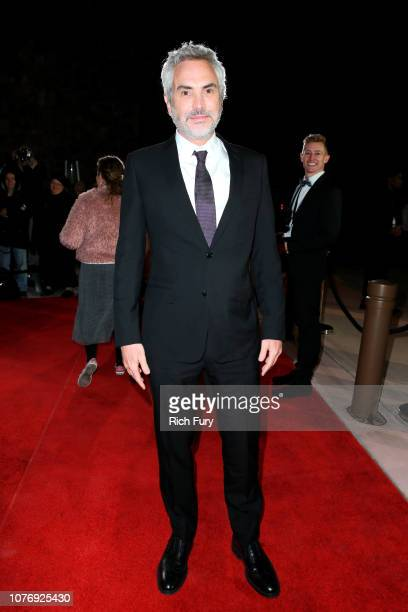 Alfonso Cuarón attends the 30th Annual Palm Springs International Film Festival Film Awards Gala at Palm Springs Convention Center on January 3, 2019...