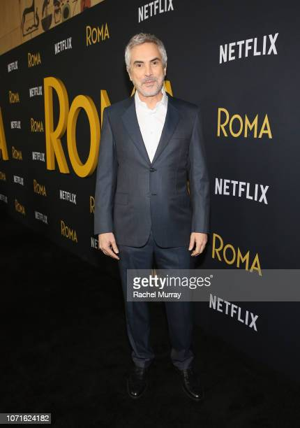 Alfonso Cuarón attends the Netflix Roma Premiere at the Egyptian Theatre on December 10 2018 in Hollywood California