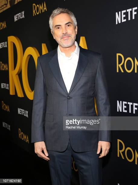 Alfonso Cuarón attends the Netflix 'Roma' Premiere at the Egyptian Theatre on December 10 2018 in Hollywood California