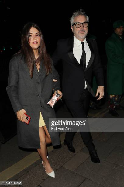 Alfonso Cuarón attends the Vogue x Tiffany Fashion Film after party for the EE British Academy Film Awards 2020 at Annabel's on February 02 2020 in...
