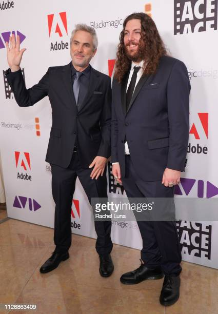 Alfonso Cuaron and Adam Gough attend the 69th Annual ACE Eddie Awards at The Beverly Hilton Hotel on February 01, 2019 in Beverly Hills, California.