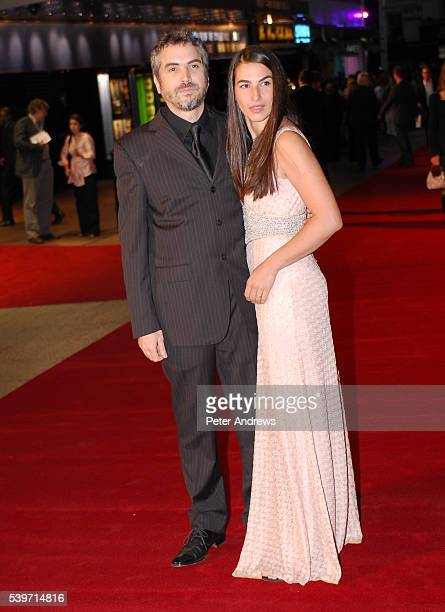 Alfonso Cuaron and Annalisa Bugliani arrives at the UK Premiere of 'Children of Men' at the Odeon Leicester Square