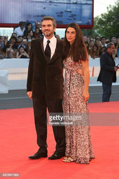 Alfonso Cuaron and Annalisa Bugliani during The 63rd International Venice Film Festival Golden Lion Final Award Ceremony Arrivals at Venice Film...